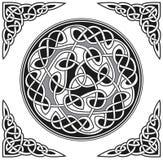 Élément celtique de conception de vecteur Images libres de droits