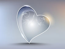 élément créateur de forme de coeur Image stock
