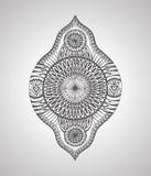 Élément décoratif abstrait de conception graphique Images libres de droits