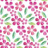 Élément décoratif de conception de congé et de fleur illustration stock
