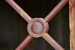 Élément décoratif sur le chapell de tombe Images libres de droits