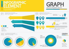 Élément d'affaires/conception infographic/infographic qualité de taille Photos libres de droits