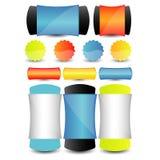 Élément de calibre de conception de site Web Vecteur EPS10 Images stock