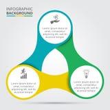Élément de cercle de vecteur pour infographic Photographie stock