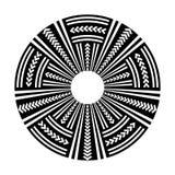 Élément de conception de cercle Modèle de disque illustration libre de droits