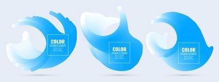 Élément de conception de couleur Photo libre de droits