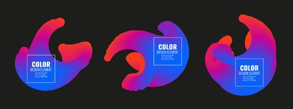 Élément de conception de couleur Photo stock