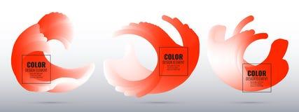 Élément de conception de couleur Photos libres de droits