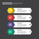 Élément de conception de disposition de calibre de rapport de gestion d'Infographic Photo libre de droits