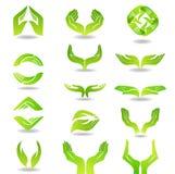 Élément de conception de mains illustration stock