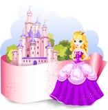 Élément de conception de princesse Photographie stock libre de droits