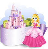 Élément de conception de princesse Photo stock