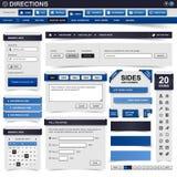 Élément de conception de Web Images libres de droits