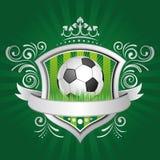 élément de conception du football Image stock