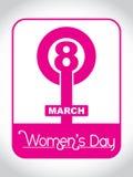 Élément de conception du jour des femmes créateurs. Photos stock