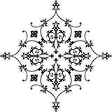 Élément de conception florale Image libre de droits