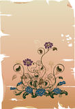 Élément de conception florale Images stock