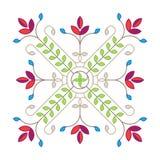 Élément de conception florale d'élégance pour le modèle Illustration de vecteur illustration stock