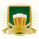 élément de conception pour la bière illustration de vecteur