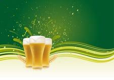 élément de conception pour la bière illustration libre de droits