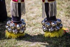 Élément de costume américain indien traditionnel photographie stock
