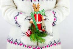 Élément de décoration de nouvelle année Photographie stock libre de droits