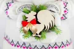 Élément de décoration de nouvelle année Photos stock