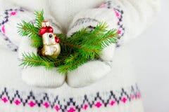 Élément de décoration de nouvelle année Images stock