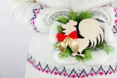 Élément de décoration de nouvelle année Photo libre de droits