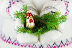 Élément de décoration de nouvelle année Photo stock