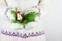 Élément de décoration de nouvelle année Images libres de droits
