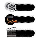 Élément de film Images libres de droits
