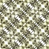 Élément de fractale de batik multicolore illustration de vecteur