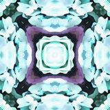 Élément de kaléidoscope de batik grand Images libres de droits