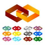 Élément de logo de conception illustration libre de droits