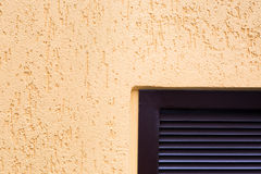 Élément de mur avec un plâtre de soulagement Photographie stock