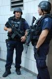 Élément de services de secours de police de New York Photo stock