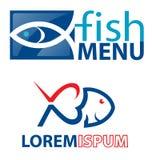 Élément de symboles de poissons Images stock