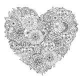 Élément de zentangle de dessin de main Rebecca 36 illustration de vecteur