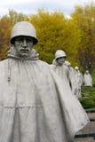 Élément du mémorial coréen Image libre de droits