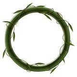 Élément en bambou illustration de vecteur