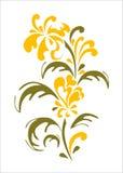 Élément floral illustration stock