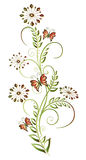 Élément floral Photo stock