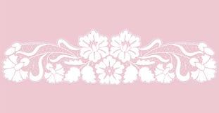 Élément floral de dentelle images libres de droits