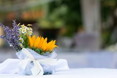 élément floral pour épouser des graphiques Photos stock