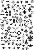 Élément floral pour le créateur illustration stock