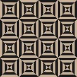Élément géométrique, calibre de conception avec les lignes inclinées diagonales noires rayées image stock