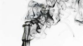 Élément liquide coloré abstrait de fumée banque de vidéos