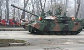 élément militaire de réservoir de défilé Photo libre de droits