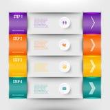 Élément moderne d'infographics Image libre de droits